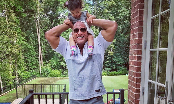 Dwayne Johnson: Θα πάθετε πλάκα με την πανέμορφη κόρη του (pics+vid)