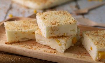 Συνταγή για να φτιάξετε βραζιλιάνικο γλυκό (Maja blanca)