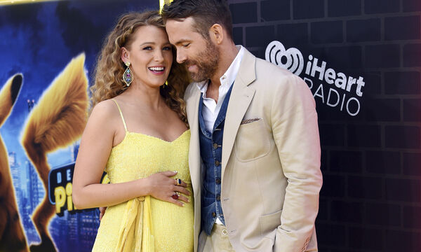 Blake Lively και Ryan Reynolds για τρίτη φορά γονείς!