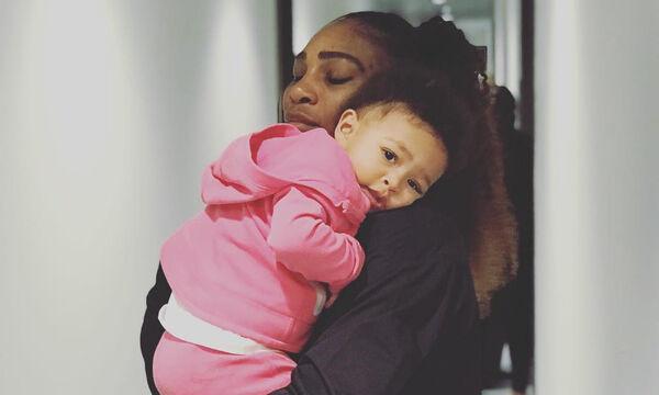 Η κόρη της Serena Williams στα βήματά της (pics+vid)