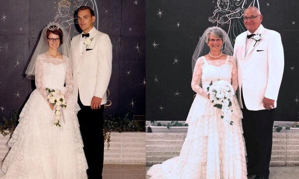 Η αγάπη αυτών των ζευγαριών άντεξε στο χρόνο - Δείτε τις τρυφερές φωτογραφίες τους (pics)
