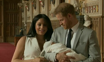 Meghan Markle-Πρίγκιπας Harry: H έξοδος από το μαιευτήριο - Δείτε για πρώτη φορά το μωρό! (video)