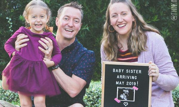 Δείτε τι έφτιαξε αυτή η οικογένεια για να υποδεχθεί το δεύτερο μωρό της (pics)