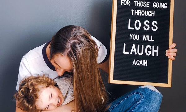 Μια μαμά μας μιλάει για το πώς αντιμετώπισε την απώλεια της μητέρας της (pics)