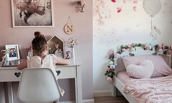 Ανοιξιάτικες ιδέες διακόσμησης για το κοριτσίστικο δωμάτιο (pics)