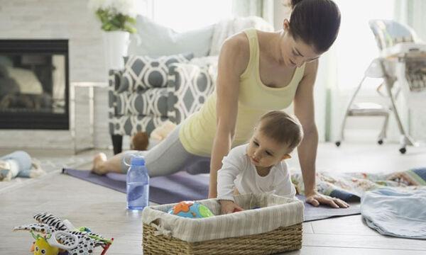 Ασκήσεις γυμναστικής με το μωρό σας