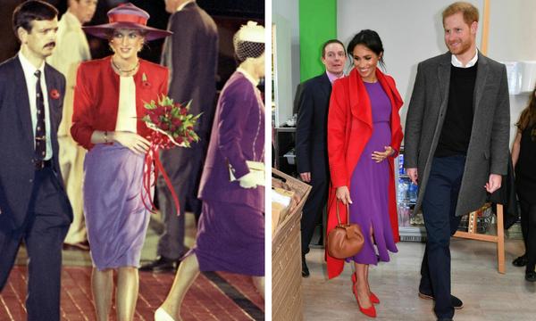 Όλες οι φορές που η Meghan Markle τίμησε την πριγκίπισσα Diana (pics)