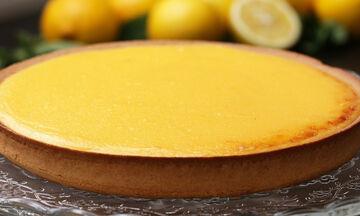 Τάρτα λεμονιού - Η πιο νόστιμη  που έχετε δοκιμάσει (vid)