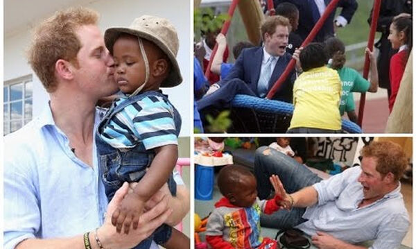 Πρίγκιπας Harry: Οι πιο τρυφερές στιγμές του με παιδιά πριν γίνει μπαμπάς (vid)