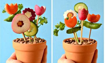 Μπουκέτα λαχανικών: Υγιεινά γεύματα που θα ενθουσιάσουν τα παιδιά! (pics)
