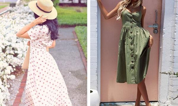 Δεκαπέντε καλοκαιρινά φορέματα για κομψές εμφανίσεις (pics)