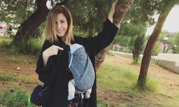 Κατερίνα Παπουτσάκη: Δείτε πόσα μαλλάκια έχει ο 2 μηνών Κίμωνας (pics)