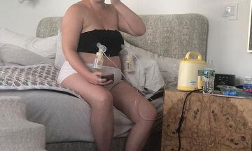 Η ηθοποιός επέστρεψε στη δουλειά 2 εβδομάδες μετά την γέννα & τα αρνητικά σχόλια έπεσαν βροχή (pics)