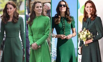 Kate Middleton: Θυμόμαστε τις πιο όμορφες εμφανίσεις της με πράσινο φόρεμα (pics + vid)
