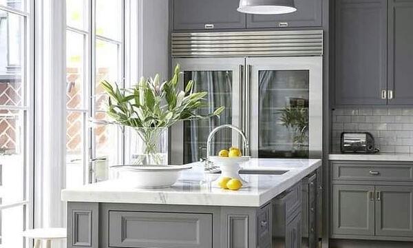 Δεκαπέντε φωτεινά και μοντέρνα χρώματα για την κουζίνα σας (pics)