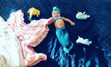 Μωράκια φωτογραφίζονται σαν γοργόνες και το Instagram λιώνει (pics)