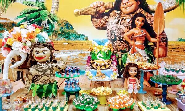 Παιδικό πάρτι με θέμα τη Βαϊάνα - Οι μικρές σας θα ξετρελαθούν (pics)