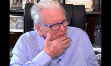 Η επική αντίδραση του Κώστα Βουτσά όταν έμαθε ότι βαφτίστηκε ο γιος του Άνθιμου χωρίς εκείνον(video)