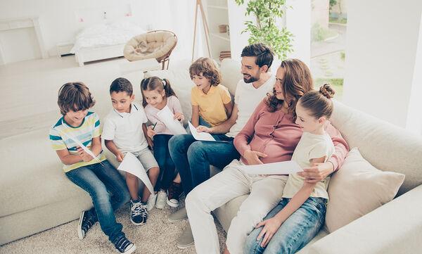 Μια μαμά εξηγεί γιατί είναι «ευκολότερο» να έχεις πέντε παιδιά απ' ότι ένα (pics)