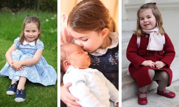 Πριγκίπισσα Charlotte: Θυμόμαστε τις πιο χαριτωμένες στιγμές της που μας «έκλεψαν» την καρδιά (pics)