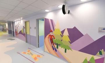 Δείτε πώς ο ΟΠΑΠ μεταμόρφωσε τον 4o όροφο του παιδιατρικού νοσοκομείου «Η Αγία Σοφία» (vid+pics)