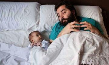Δεκαπέντε φωτογραφίες με απίθανους μπαμπάδες (pics)