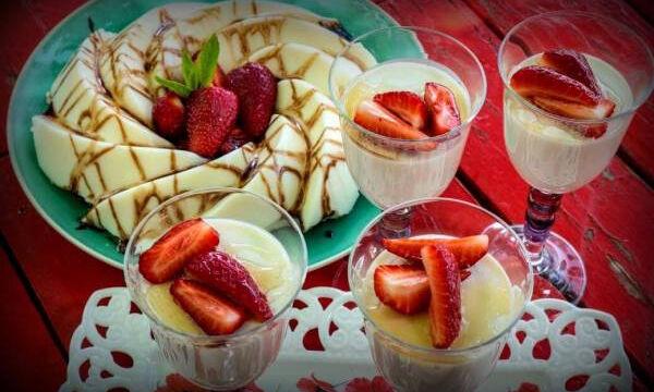 Λαχταριστή πανακότα με γιαούρτι χωρίς ζάχαρη (vid)