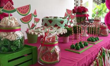 Καρπουζοπάρτι: Το απόλυτο καλοκαιρινό παιδικό πάρτι γενεθλίων (pics)