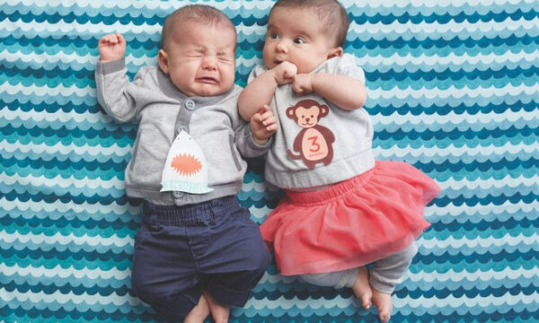 5+1 tips για να τραβήξετε το μωρό σας τις πιο απίθανες φωτογραφίες μήνα με το μήνα (pics)