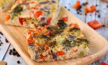 Ομελέτα φούρνου με λαχανικά - Μια νόστιμη και ανοιξιάτικη συνταγή