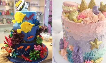 Παιδικό πάρτι: 10+1 ιδέες για τούρτες εμπνευσμένες από τον βυθό της θάλασσας (pics)