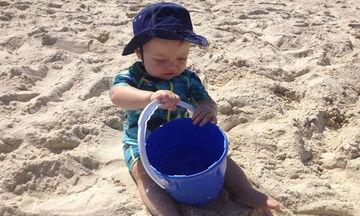 Αντηλιακή προστασία μωρών: λοσιόν, καπέλα και ρουχισμός