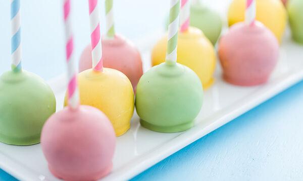 Cake pops: Το τέλειο γλύκισμα για παιδικό πάρτι (pics+vid)
