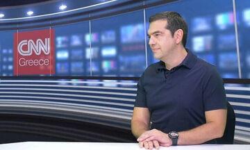 Ο Τσίπρας στο CNN.GR για όλους και για όλα