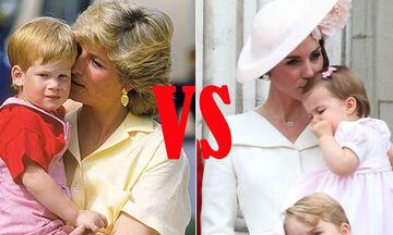 Πριγκίπισσα Diana - Kate Middleton: Θυμόμαστε τις πιο τρυφερές στιγμές με τα παιδιά τους (vid)