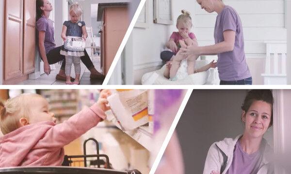 H καθημερινότητα μιας μαμάς μέσα από τα μάτια ενός παιδιού σε ένα απολαυστικό βίντεο (vid)