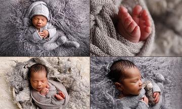 Φωτογράφηση νεογέννητου: Δείτε ποια διαδικασία ακολουθείται πριν το τελικό αποτέλεσμα ( pics+vid)