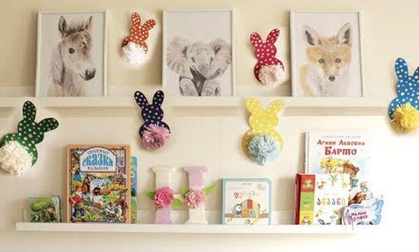 Βρεφικό δωμάτιο: Οι καλύτερες ιδέες για να διακοσμήσετε τους τοίχους (vid)