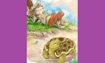 """""""Ο Λαγός και η Χελώνα… Μύθοι του Αισώπου"""" στο Βεάκειο"""