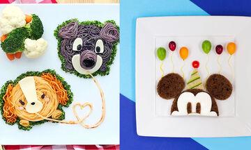 Όταν το φαγητό γίνεται παιχνίδι - Ευφάνταστα πιάτα εμπνευσμένα από την Disney (pics)