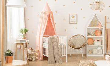 Βρεφικό δωμάτιο: Έτσι θα κάνετε eco-friendly το δωμάτιο του μωρού σας (vid)