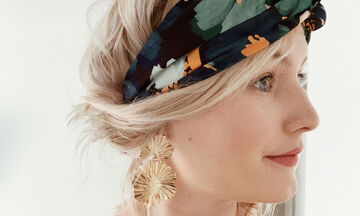 3 τρόποι να φτιάξετε stylish κορδέλες για τα μαλλιά από παλιά t-shirts (vid)