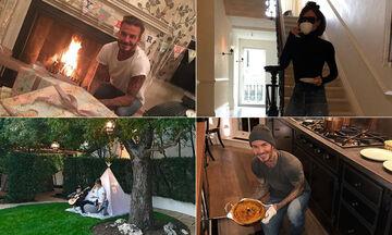 David -Victoria Beckham:Το εκπληκτικό σπίτι και οι καθημερινές στιγμές με τα παιδιά τους (pics +vid)