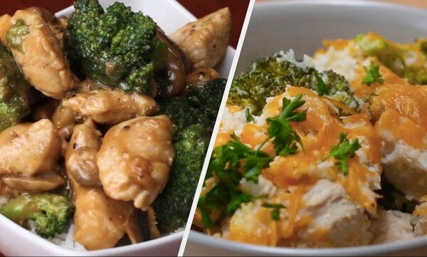 Πέντε νόστιμες συνταγές με κοτόπουλο που έχουν λίγες θερμίδες (vid)