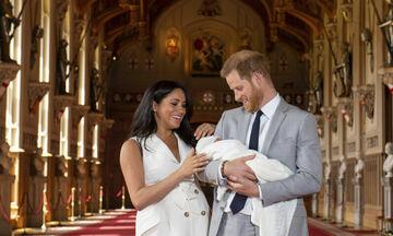 Ο Archie Harrison βαφτίζεται και ιδού οι πρώτες φωτογραφίες από το Windsor