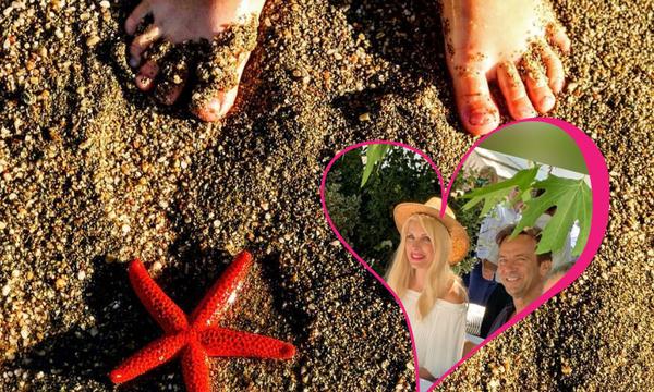 Μάκης Παντζόπουλος: Μας δείχνει όλα όσα λατρεύει η Ελένη και η κόρη του στην Άνδρο (pics)