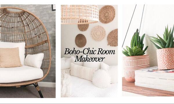 Υπέροχο! Αυτή η μαμά ετοίμασε το πιο όμορφο boho-chic δωμάτιο για την κόρη της - Δείτε πώς (vid)
