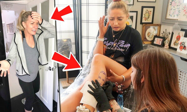 Η αντίδραση αυτής της μαμάς τη στιγμή που είδε το τατουάζ της κόρης της είναι ανεκτίμητη (vid)