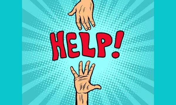 Zητάς βοήθεια αν βρεις τα σκούρα; Και πώς;