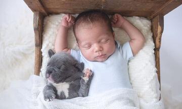 Μωρό και σκύλος - Μία σχέση αγάπης μέσα από υπέροχες φωτογραφίες (pics)